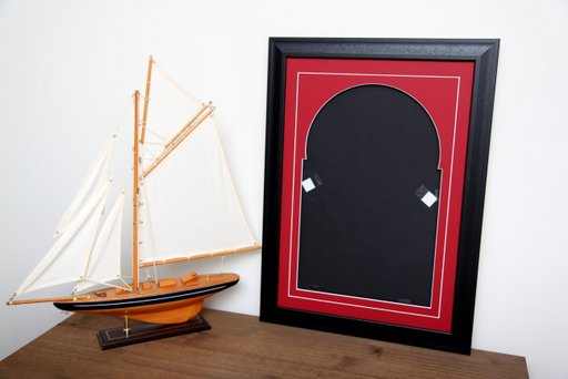 12inch Sleeve & Disc Black Frame RedMount